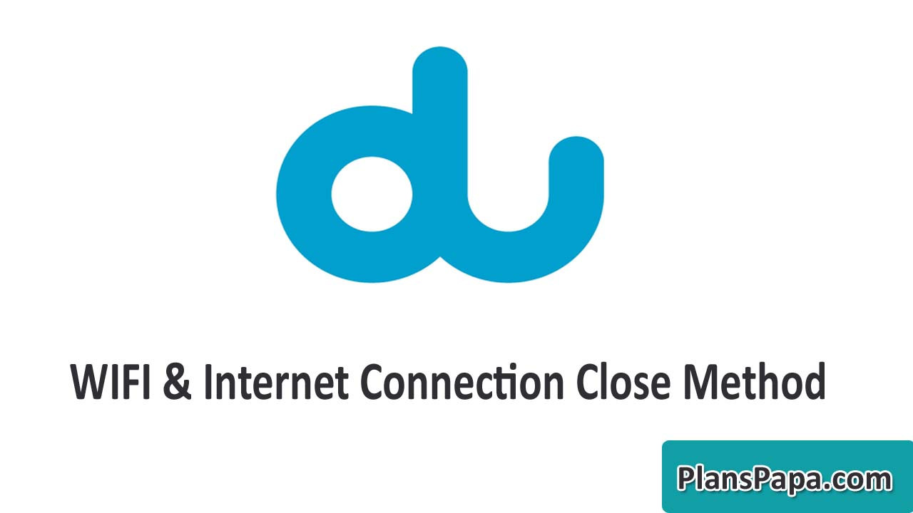 How to Cancel DU Home Wifi Services UAE