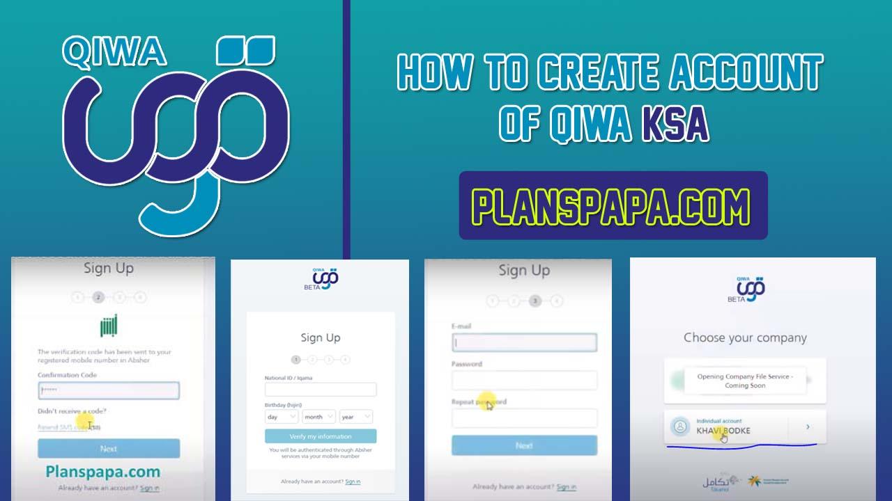 How to create Qiwa account in KSA